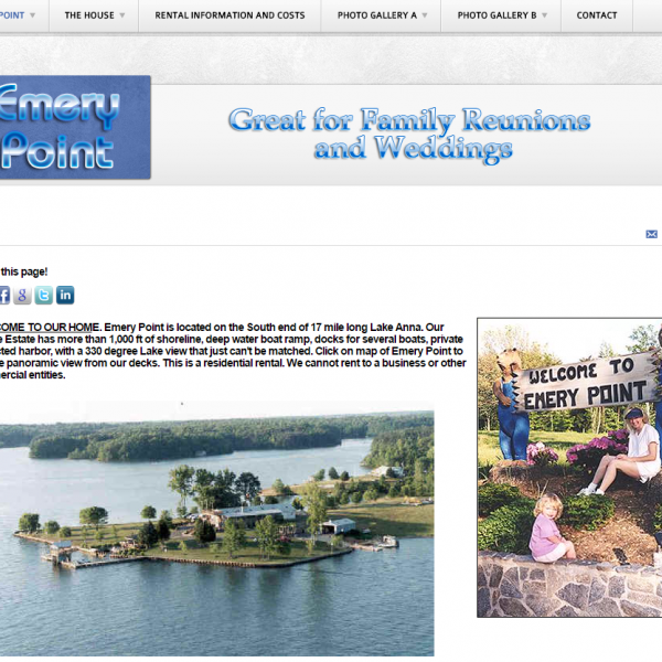 Emery Point | Website Design