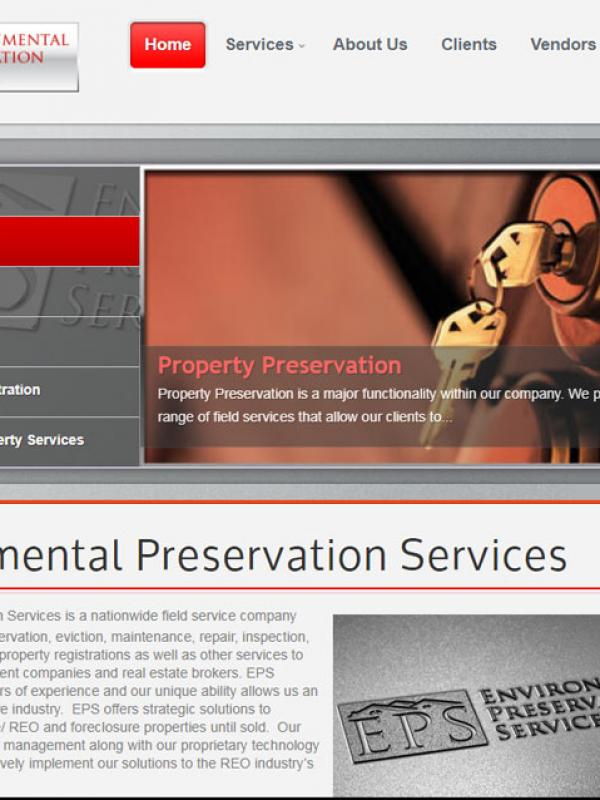Environmental Preservation Services: Website - SEO