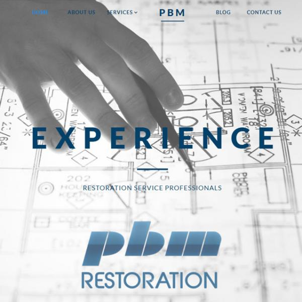 PBM Restoration: Website Design / SEO / Social Media Marketing